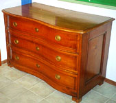 miniature de : commode fribourgeoise en cerisier